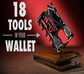 Wallet Ninja 18 in 1 টুলস