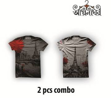 Combo Pack of 2 T-Shirt For Men