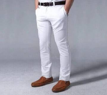 White Official Formal Pant for Fashionable Hero