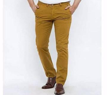 Semi Narrow Twill Pants for Men