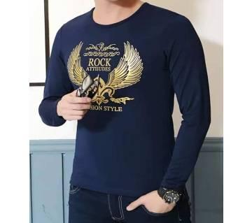 Blue Full Sleeve Tshirt
