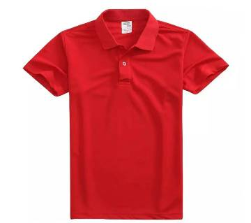 Solid Color Polo for Men