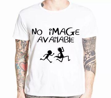 Half Sleeve Round Neck T Shirt For Men