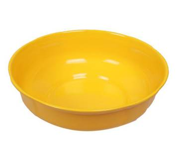 10 Inch Lotus Bowl - Yellow