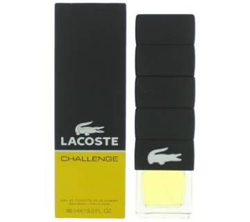 Lacoste Challenge Eau de Toilette 90ml Spray For Men UK 90ml