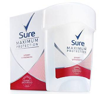 বডি স্প্রে Sure Women Maximum Protection Confidence Anti-Perspirant Deodorant Cream, 45ml UK
