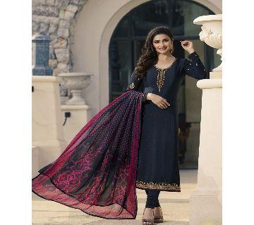 Orginal Indian Vinay Fashion  Salwar Suit black for women