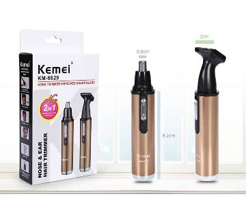 Kemei KM-6629 Rechargeable Noise Trimmers