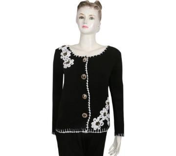 Ladies Full Sleeve Woolen Cotton Sweater