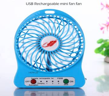 USB Mini Rechargeable Fan (1)