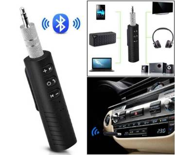 Wireless Bluetooth Music Receiver - Black