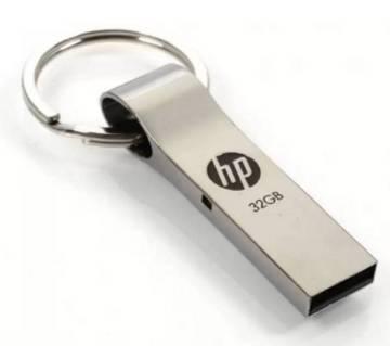 hp 32GB Steel Body Pen drive