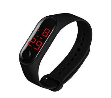Dubai Touch Type LED Digital Watch
