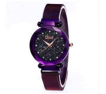 Magnetic Female Quartz Wrist watch