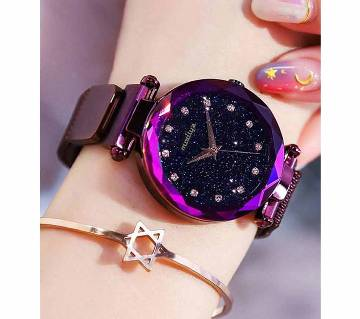 Gorgeous Magnet Watch for Women-Pink