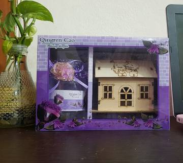 baby doll house gift box