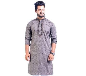 Print embroidery punjabi