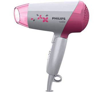 Philips 1200W Hot & Cool Hair Dryer HP8120 - Pink & White