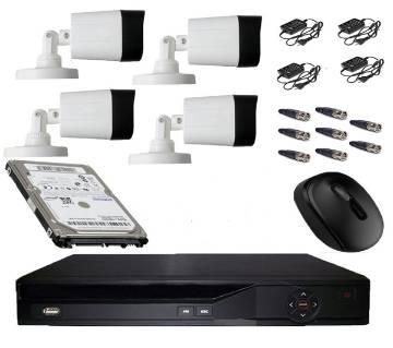 HD Type CCTV ক্যামেরা সিস্টেম প্যাকেজ