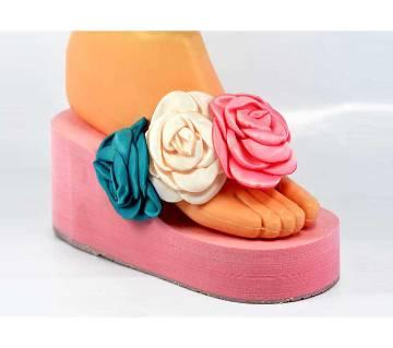 Ladies High Heel Foam Sandals