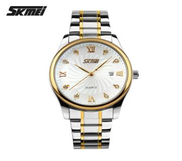 Skmei Chain Watch For Men  9101WH-EVR3001-5MA4 7601 1A00