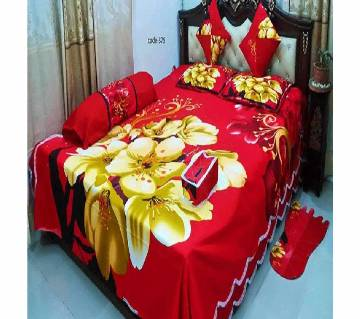 8 pcs Bed sheet set