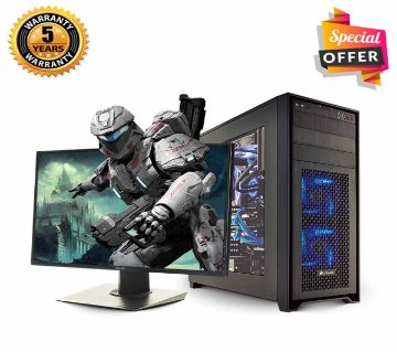 "Intel Core i7 RAM 4GB HDD 1000GB Graphics 2GB Built in and Monitor 19"" Gaming PC Windows 10 64 Bit NEW Desktop Computer 2019 Full Package"