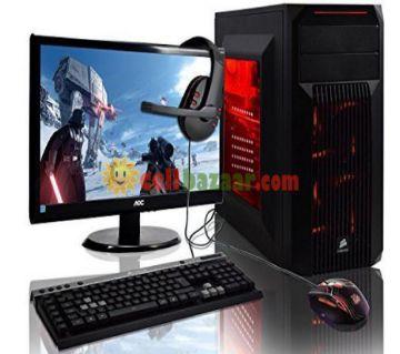 "Desktop CPU Intel Core i5 RAM 4GB HDD 1000GB Monitor HP 19"""