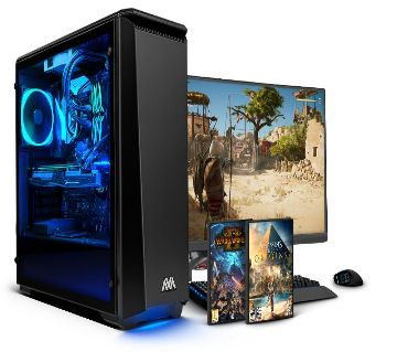 "Desktop CPU Intel Core i5 RAM 8GB HDD 500GB Monitor 17"""