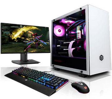 "Desktop CPU Intel Core i5 RAM 4GB HDD 1000GB Monitor 17"""