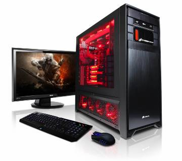 """Desktop Gaming PC Intel Core i5 RAM 4GB HDD 1000GB & Monitor HP 19"""" With Mouse & Keyboard"""