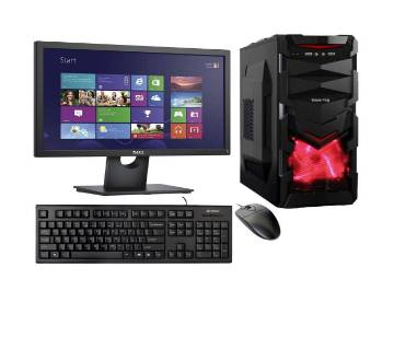 "Desktop Intel Core i7 RAM 4GB 1000GB Monitor 19"" With Mouse And Keyboard"