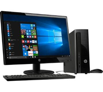 Desktop Intel Core 2 Duo RAM 4GB 500GB & Monitor 19'' With Mouse And Keyboard