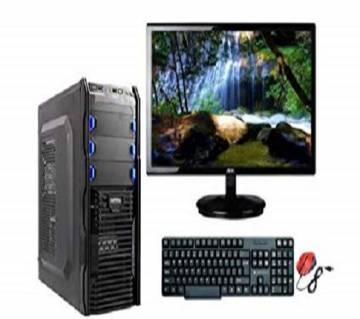 Desktop Intel Core i5 RAM 8GB 500GB & Monitor 17'' With Mouse And Keyboard