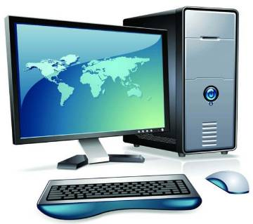 Desktop Intel Core i7 RAM 8GB 500GB & Monitor 19'' With Mouse And Keyboard