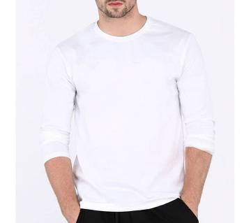 Gents Full Sleeve Solid Color T-Shirt