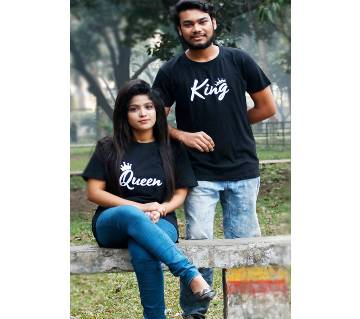 Couple Design T-Shirt For Men and Women