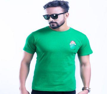 Mens Half Sleeve Cotton T-Shirt T 24