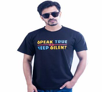 Mens Half Sleeve Cotton T-Shirt T-15