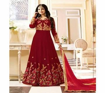 Unstitched (copy) Gorgeous Embroidery Georgette Anarkoli Dress ARAV 111C