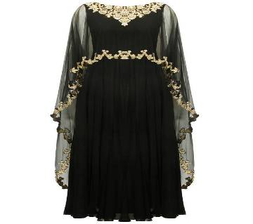 Gorgeous Embroidery Georgette Cape