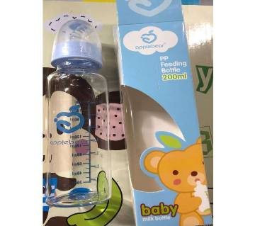 Apple bear glass Baby feeder-200ml