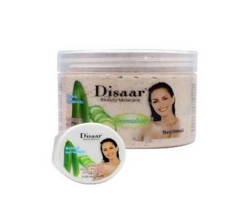 Disaar Cucumber Facial & Body Scrub cream-300gm-China