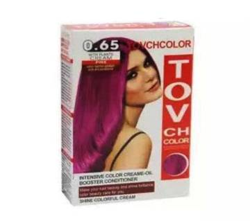 TOV Hair Colour For Men And Women. -Shades 0.65-60gm-China