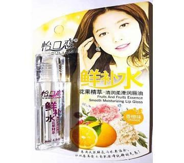 Smooth Moisturizing Fruits Essence Lip Gloss - 4.8 ml-China