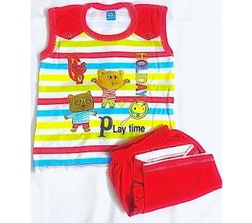 baby comfortable soft dress set