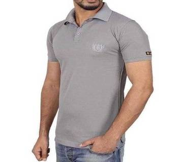 solid COlor Polo T-shirt for man