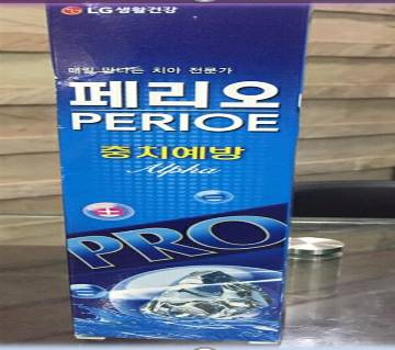 LG Perioe Alpha টুথপেস্ট ১৪০ গ্রাম কোরিয়া