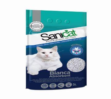 Sanicat Bianca Absorbent Cat Litter (5lt)