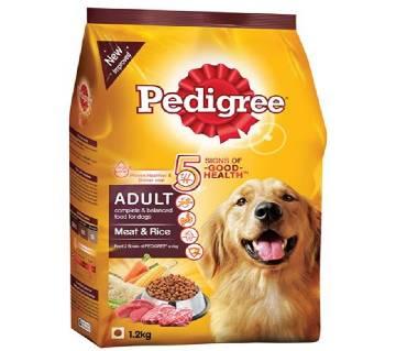 Pedigree Adult Dog Food Meat & Rice (1.2 Kg) - USA